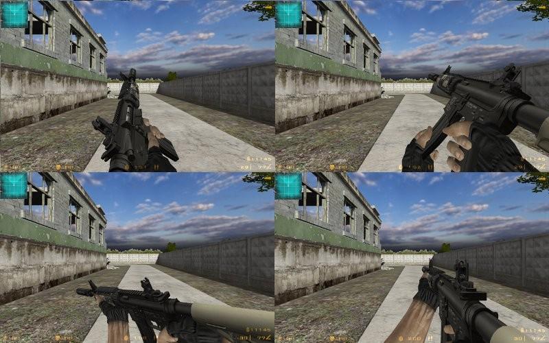 دانلود اسکین پک عقاب برای M4