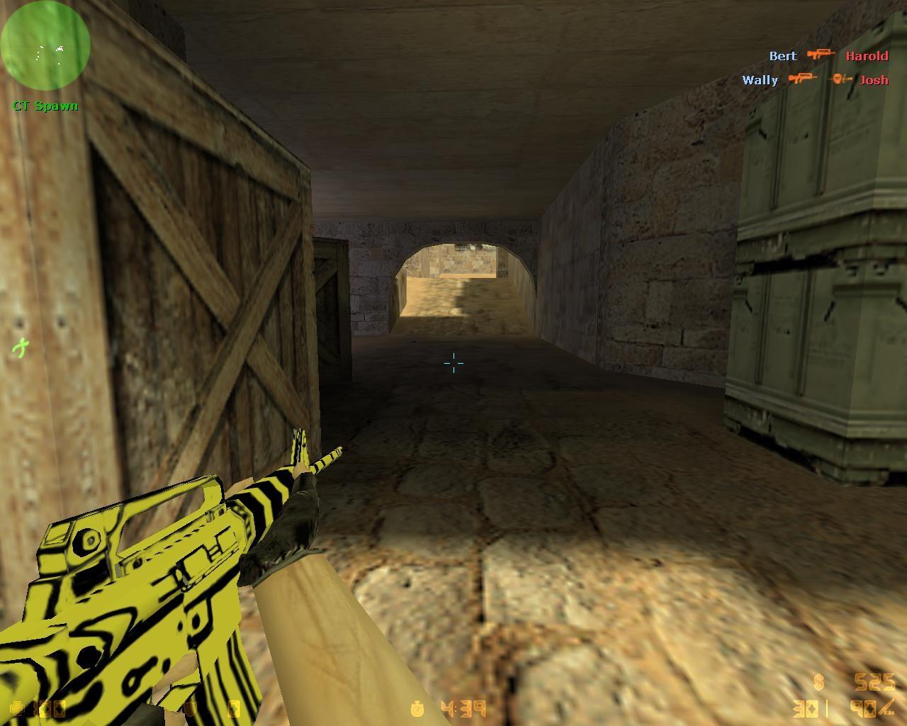 دانلود اسکین زرد برای M4