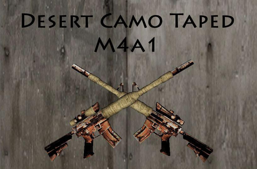 دانلود اسکین اسنایپ برای M4