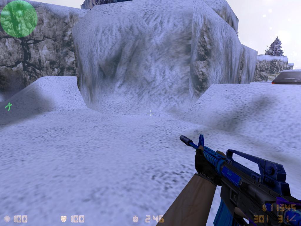 دانلود اسکین ابی یخ زده برای M4