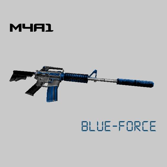دانلود اسکین ابی گروه force برای m4