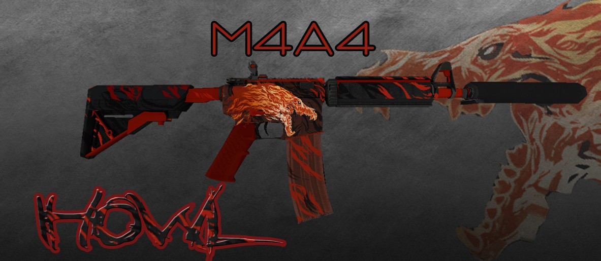 دانلود اسکیت طرح تمساح برای m4