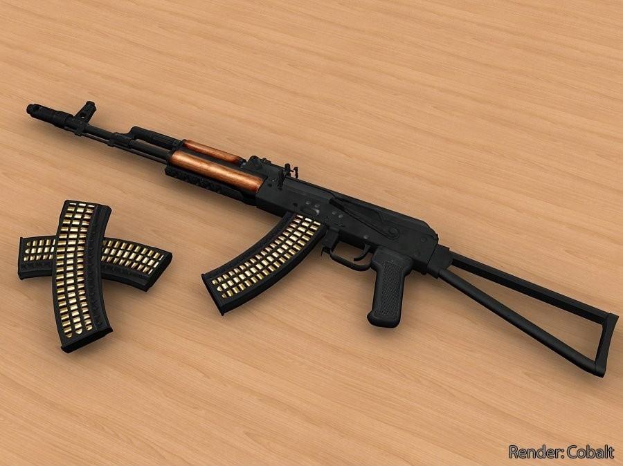 دانلود اسکین طرح تیر برای Ak47