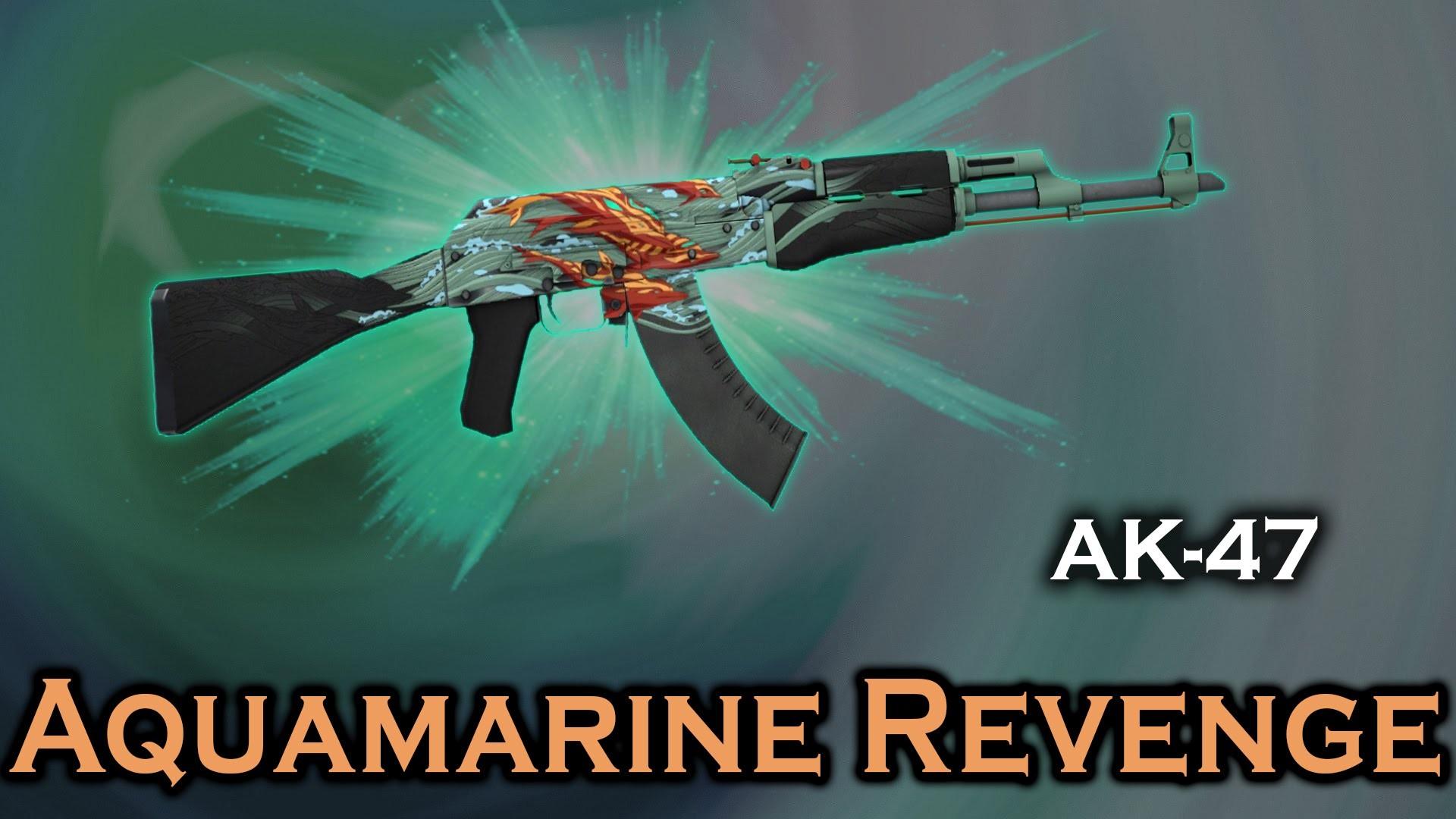 دانلود اسکین طرح ماهی برای Ak47