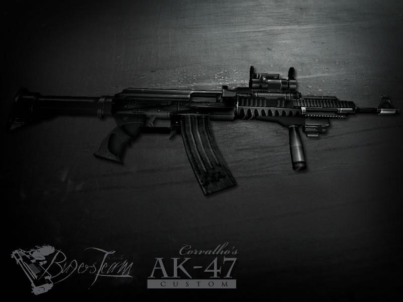 دانلود اسکین خفن برای Ak47