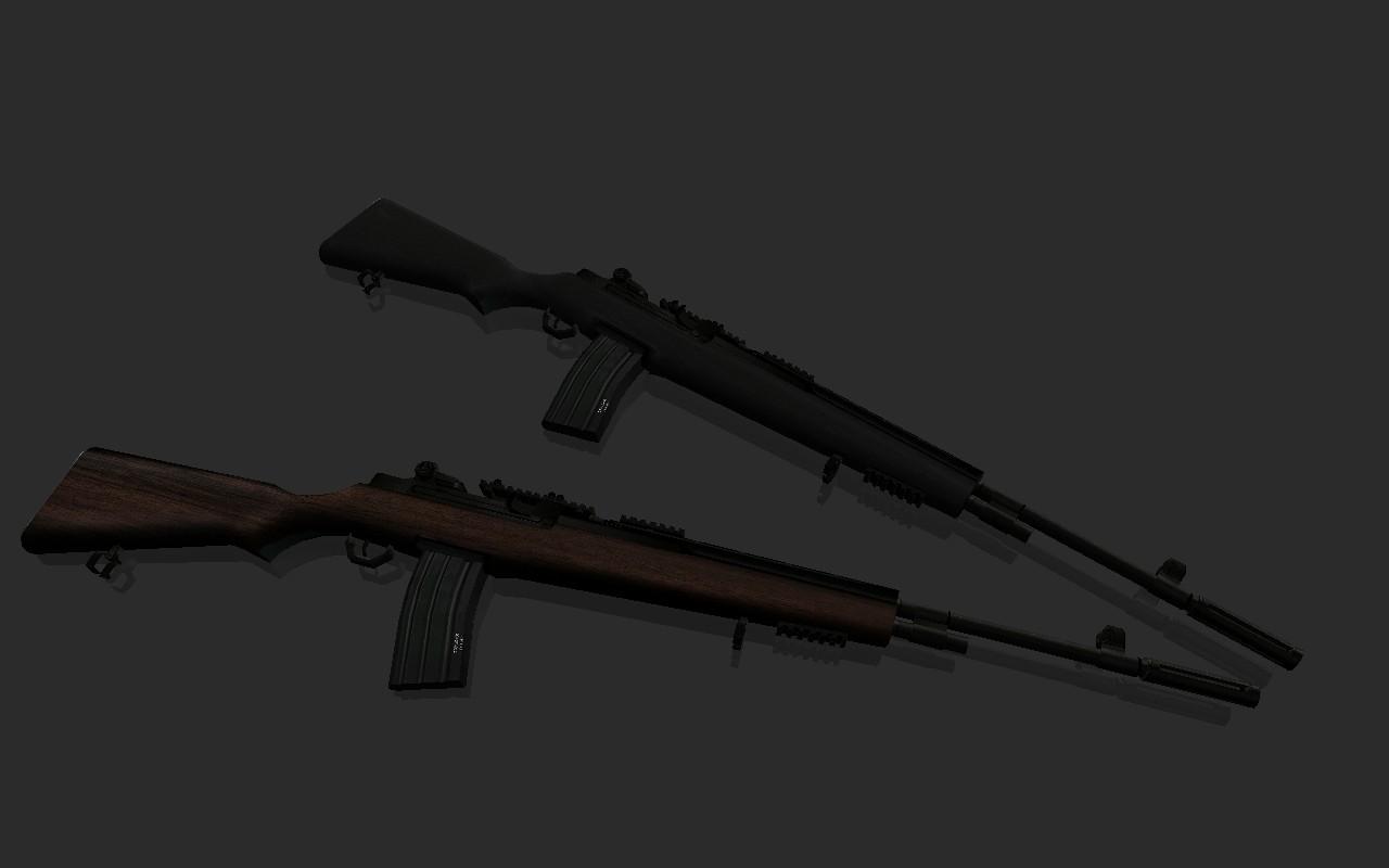 دانلود اسکین اسلحه قدیمی برای Ak47