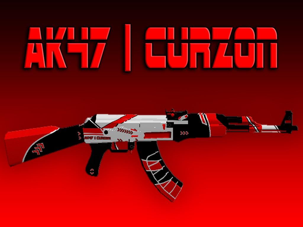 دانلود اسکین طرح کرزن برای AK47