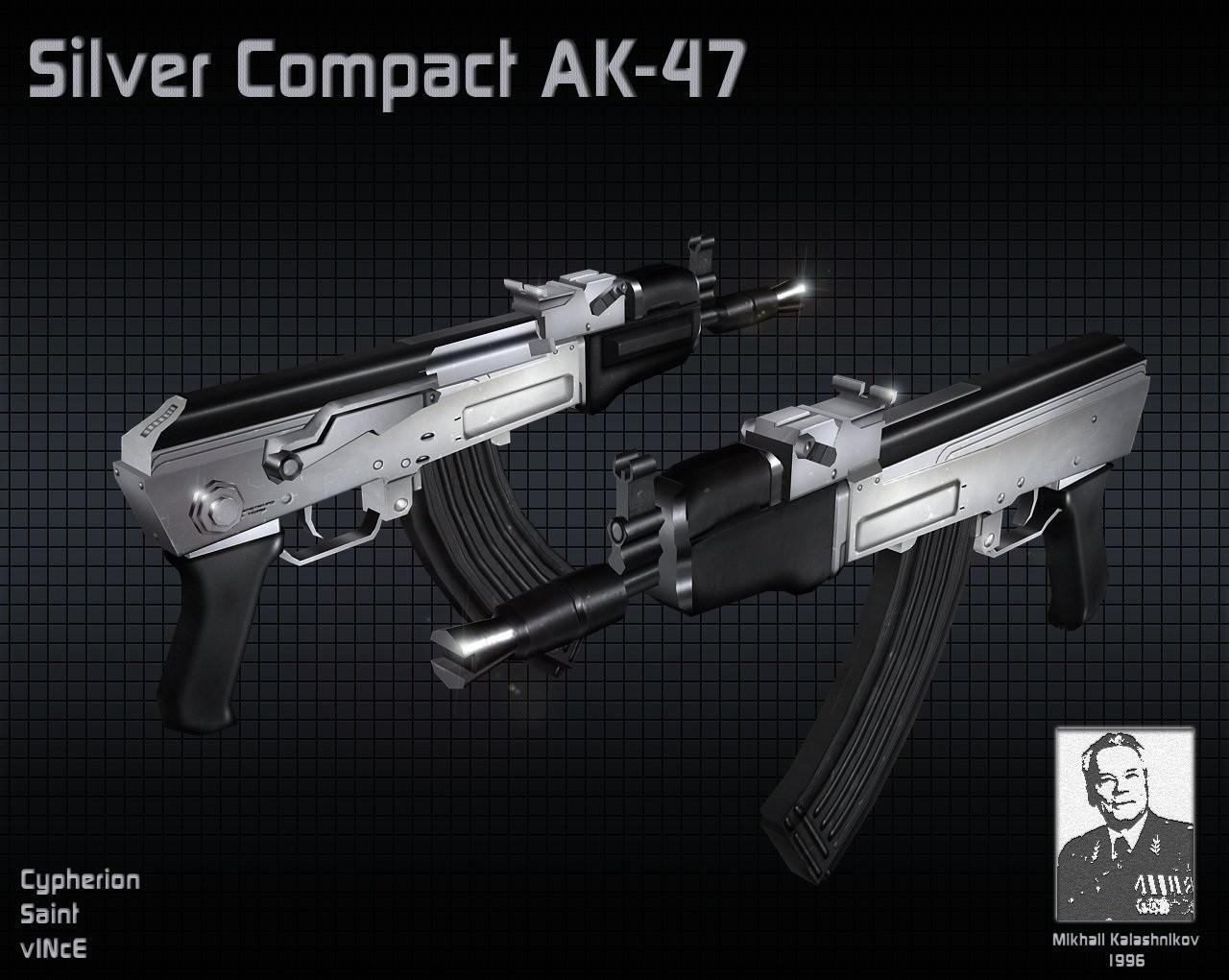 دانلود اسکین AK بی قنداق برای AK47