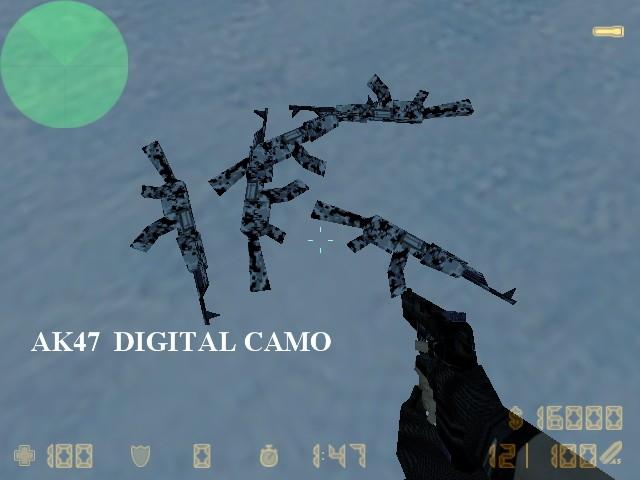 دانلود اسکین AK47 Digital