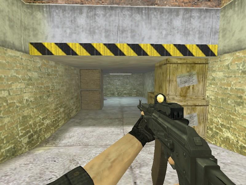 دانلود اسکین AK74 خشاب قهوه ای
