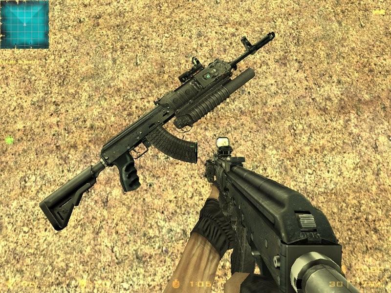 دانلود اسکین m202 برای AK47