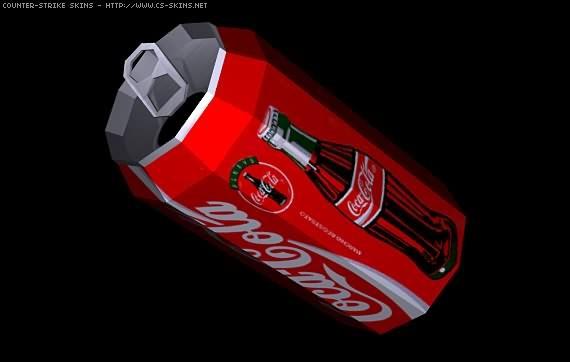 دانلود اسکین بطری کوکاکولا برای نارنجک (Grenade)
