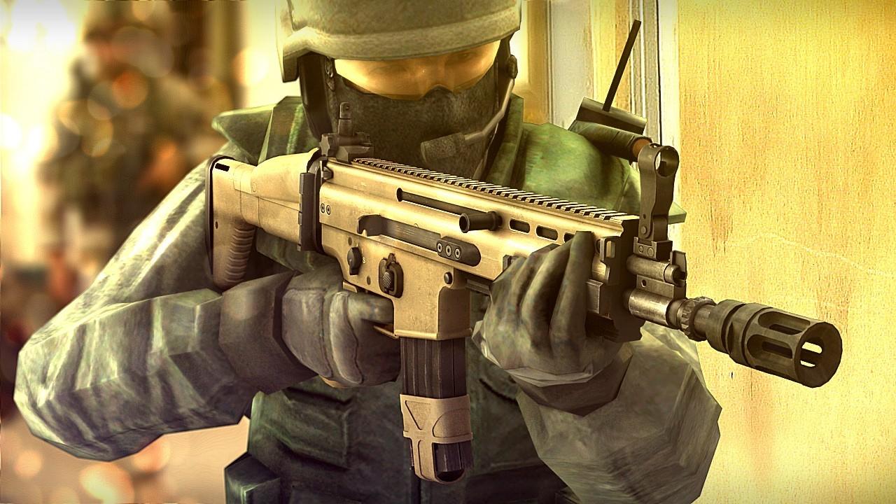 دانلود اسکین اسکار بتلفیلد 3 برای AK47 کانتر استریک 1.6