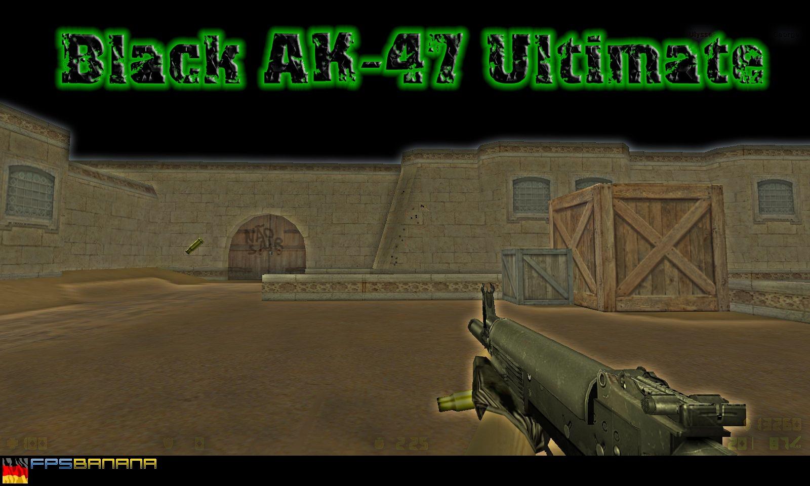 دانلود اسکین مشکی نهایی AK47