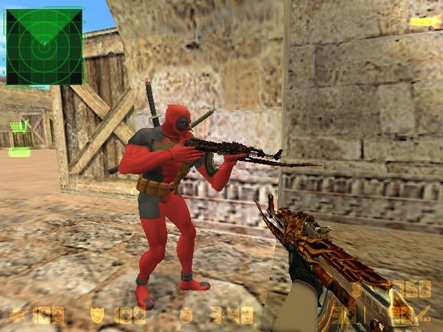 دانلود اسکین پای سوسک برای AK47