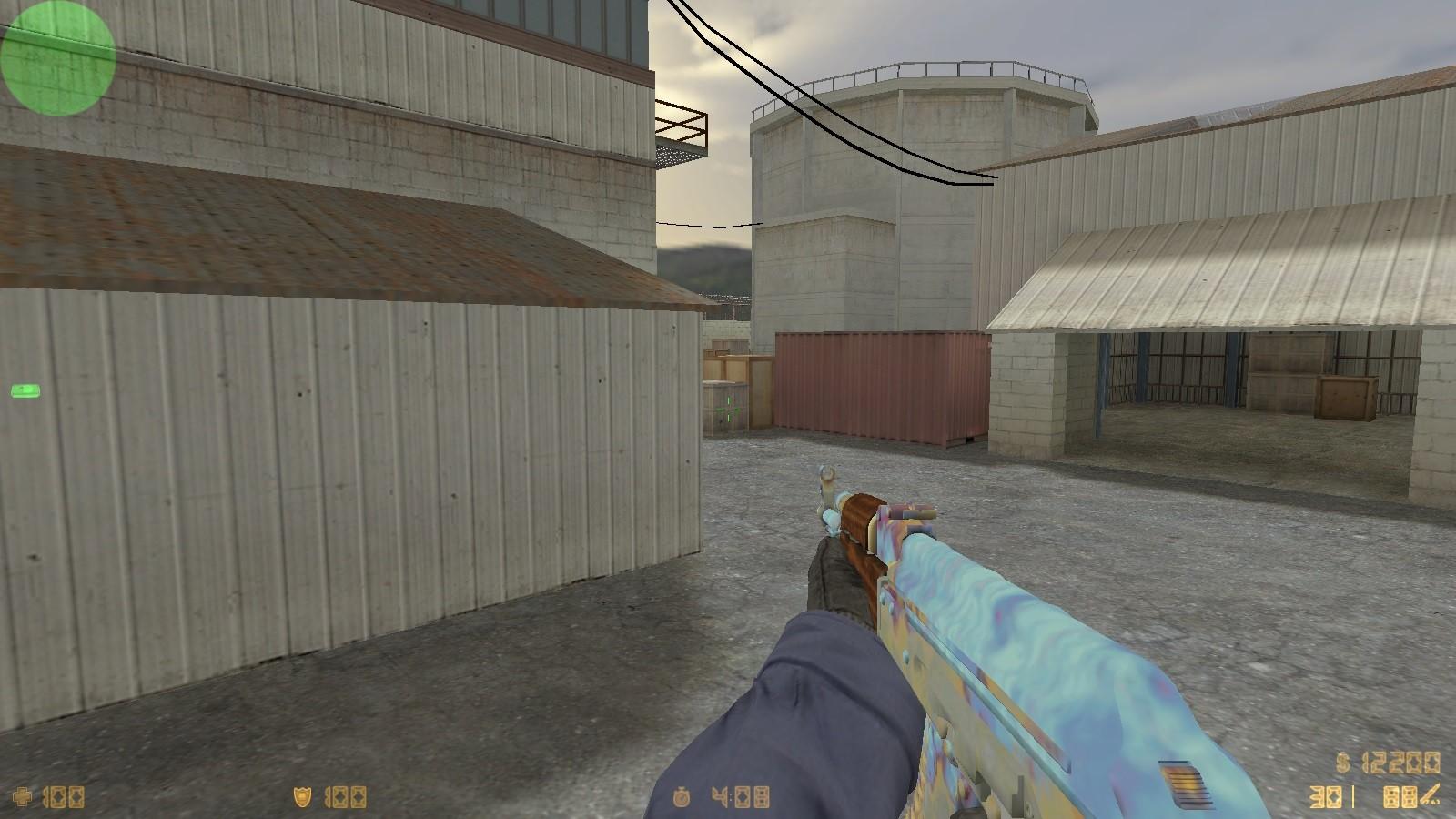 دانلود اسکین اب برای AK47