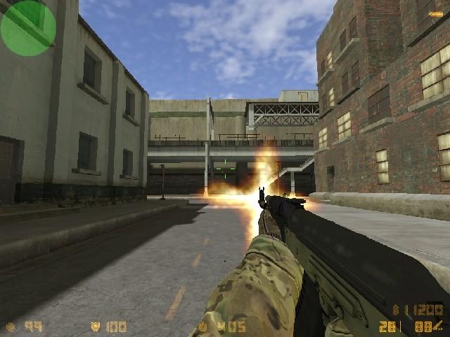دانلود اسکین سبز برای AK47