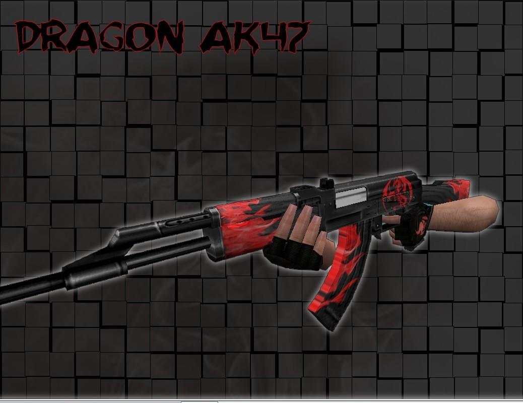 دانلود اسکین AK47 Dragon