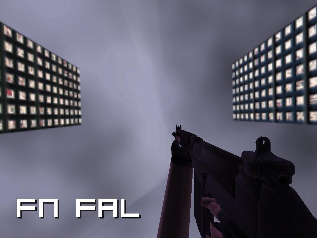 دانلود اسکین اسلحه FN FAL برای AK47