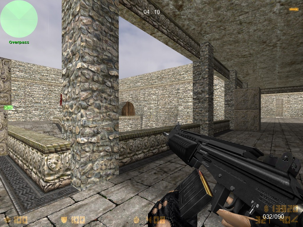 دانلود اسکین galil ace 762 برای AK47