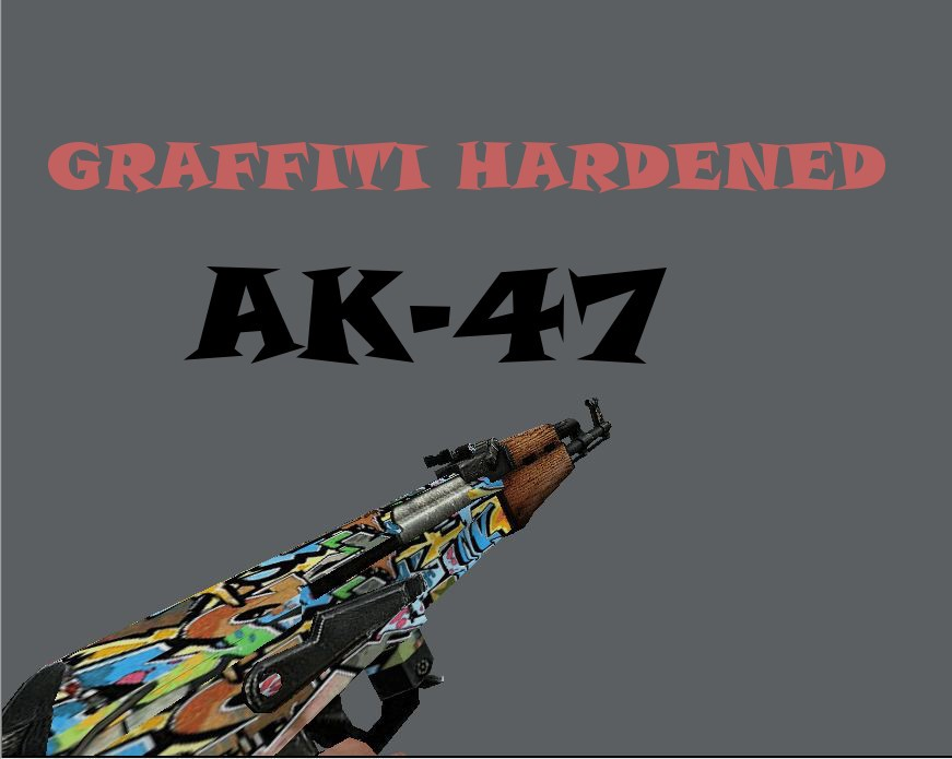 دانلود اسکین گرفیکی زیبا AK47