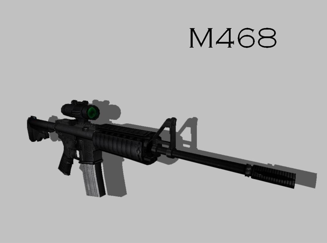 دانلود اسکین M4 68 برای AK47