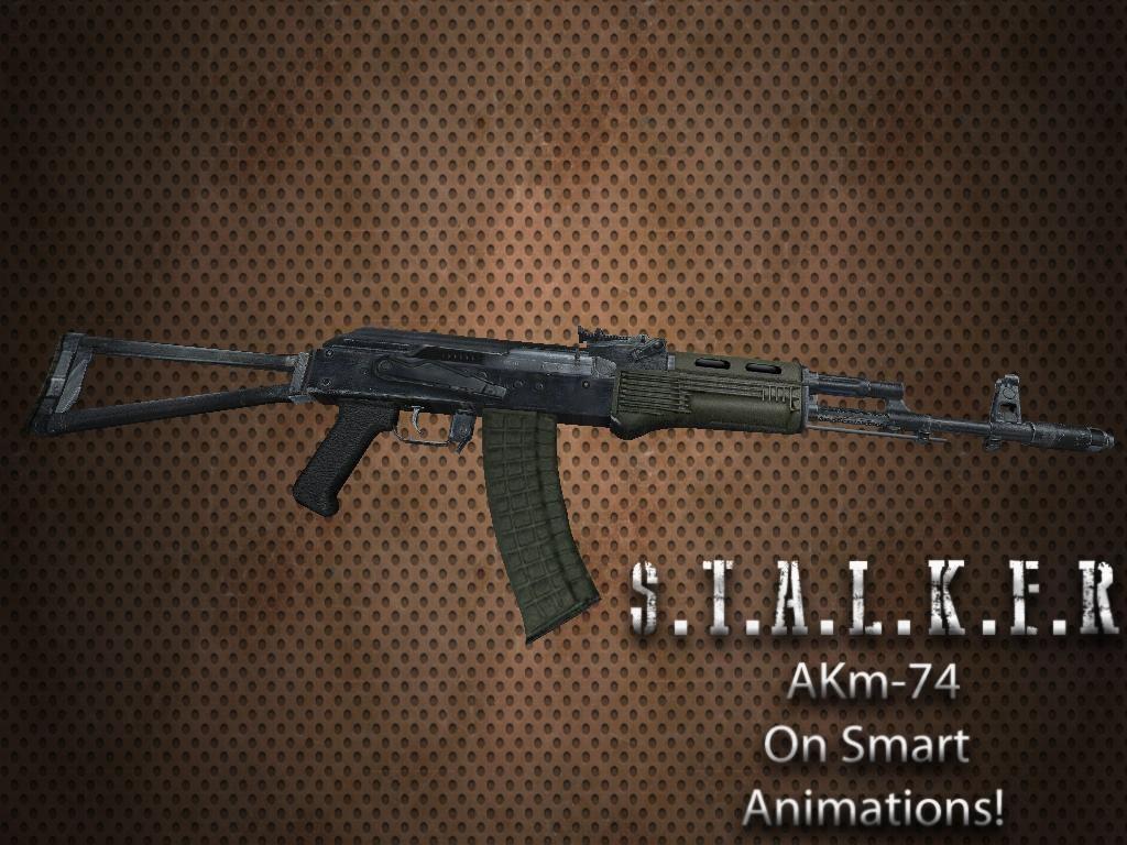دانلود اسکین AK Stalker برای AK47
