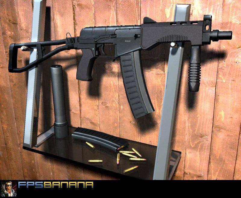 دانلود اسکین vikky برای AK47