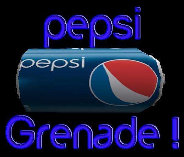 دانلود اسکین نارنجک پپسی (pepsi)