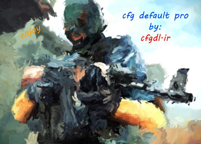 دانلود سی اف جی cfg default pro برای انتی چیت 15.7