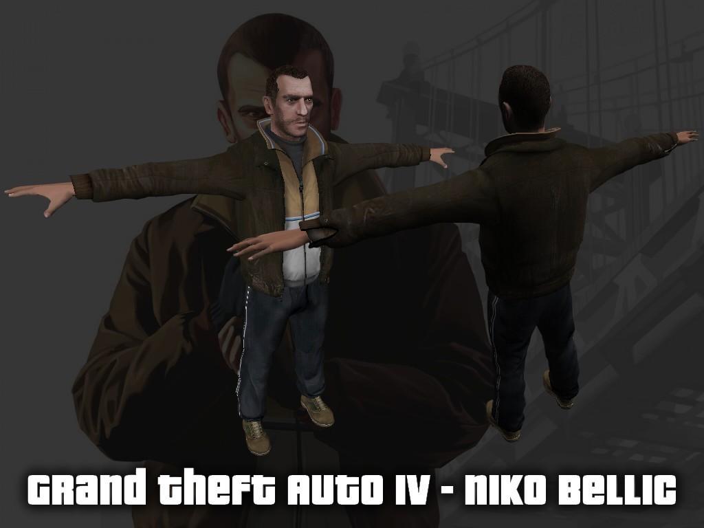 دانلود اسکین لباس Niko Bellic برای کانتر استریک 1.6 (ترور)
