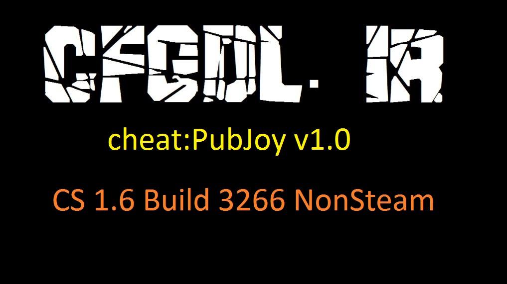 دانلود چیت PubJoy v1.0 برای کانتر Non steam build 3266