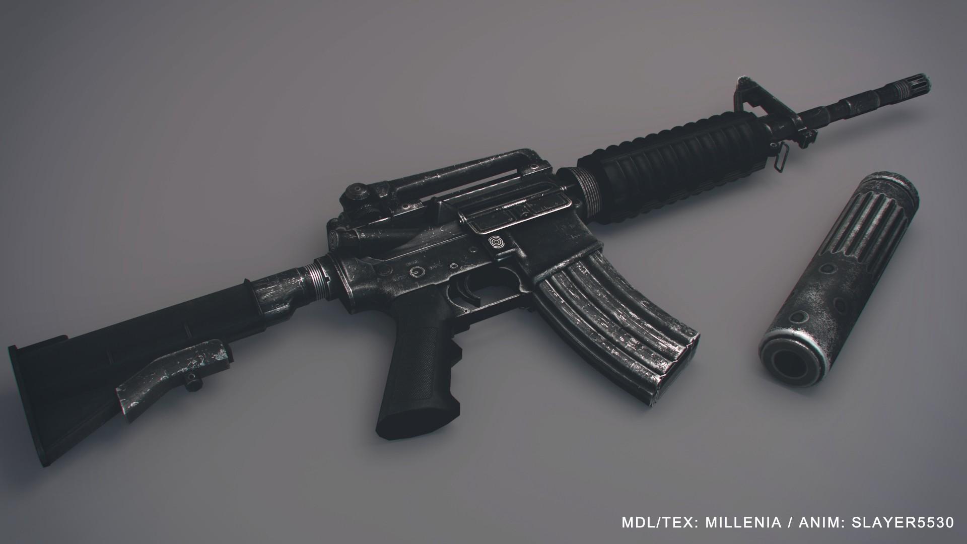 دانلود اسکین M4A1  برای کانتر سورس