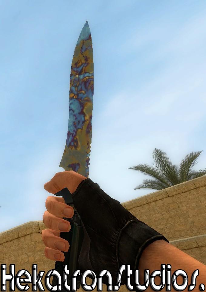 دانلود اسکین Case Hardened Edition Knife برای کانتر سورس