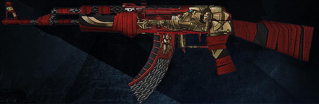 دانلود اسکین AK47 | Anubis برای کانتر استریک 1.6