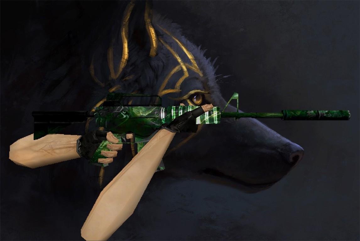 دانلود اسکین حرفه ای M4 | Nightwolf برای کانتر استریک 1.6
