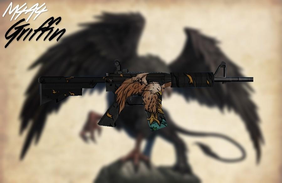دانلود اسکین M4 | Griffin برای کانتر استریک 1.6