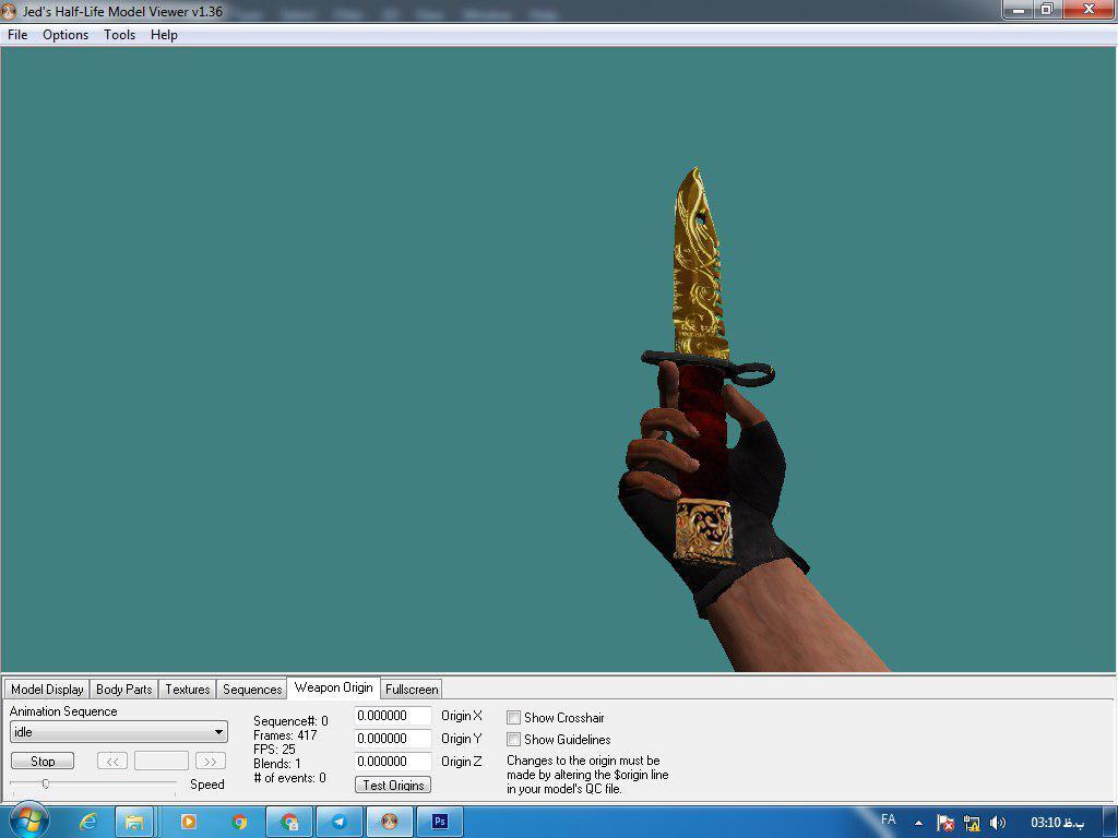 دانلود اسکین نایف طلایی | Golden Knife