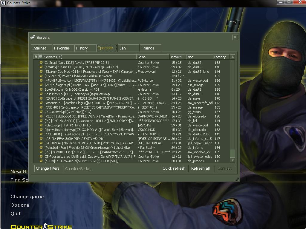 دانلود کانتر استریک 1.6 ورژن 23 نسخه 3266 مخصوص چیت
