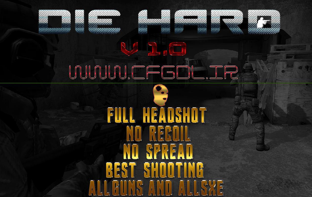 فروش استثنایی سی اف جی فول هدشات Die Hard V 1.0 برای sXe Injected 17.x