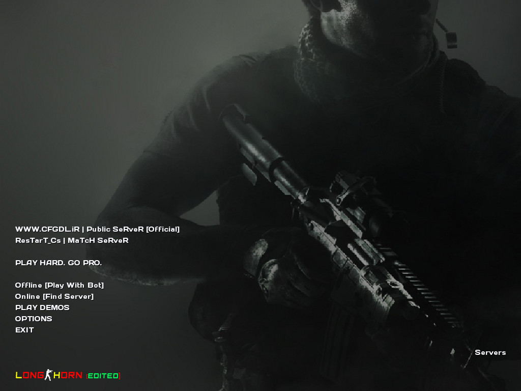 دانلود جدیدترین نسخه بازی Counter Strike 1.6 Long Horn Golden Edition 2019