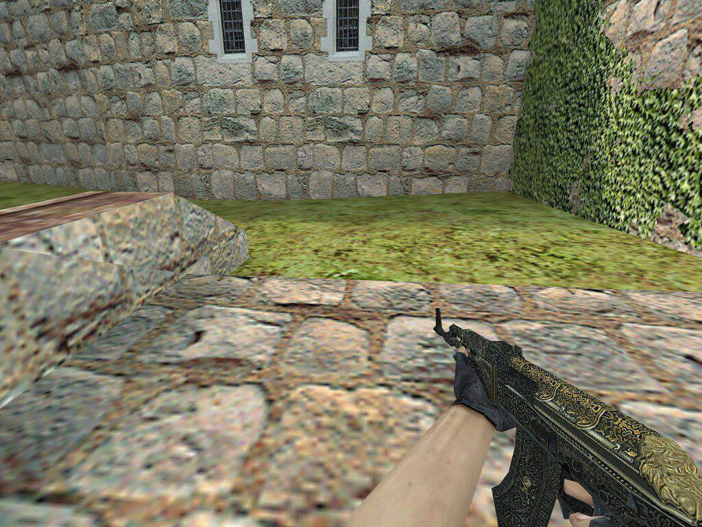 دانلود اسکین Ak47 حرفه ای و 3D برای Counter Strike 1.6