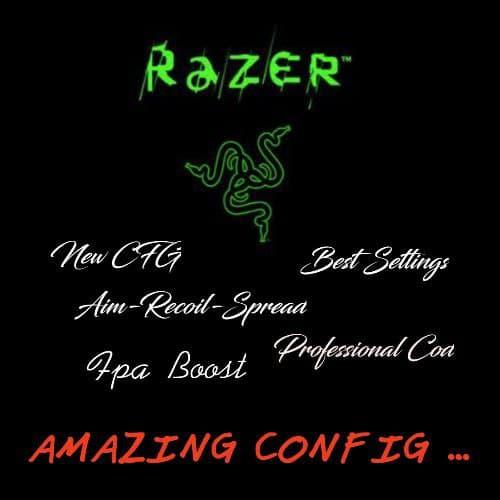 سی اف جی جدید و قوی  Razer برای Cs 1.6